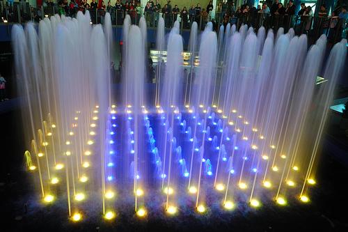 Đèn Led âm nước - 18x1W