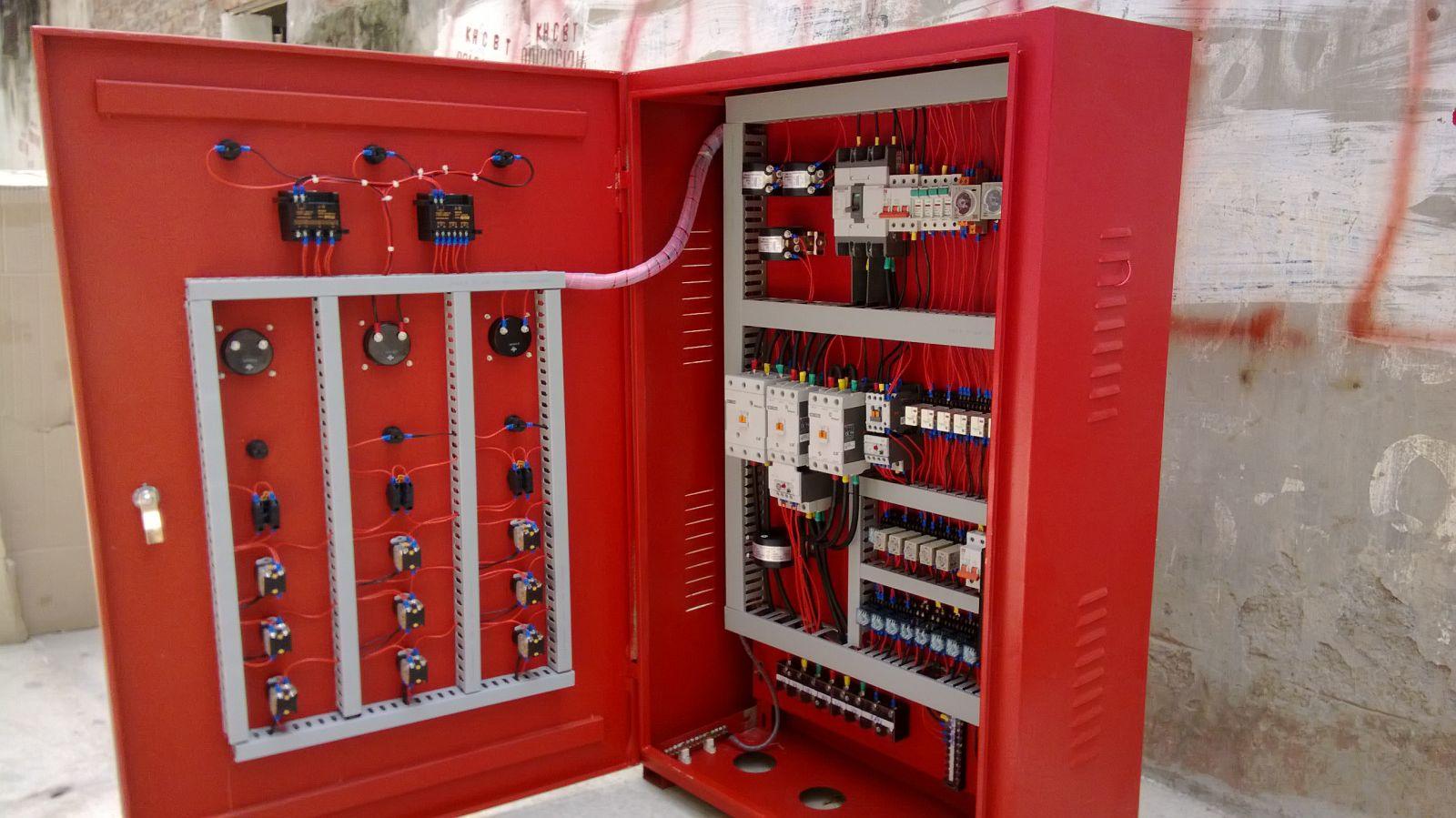 Tủ điện điều khiển phòng cháy chữa cháy